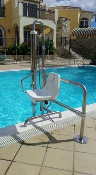 Installation d'élévateur de piscine en Limousin et Nouvelle Aquitaine