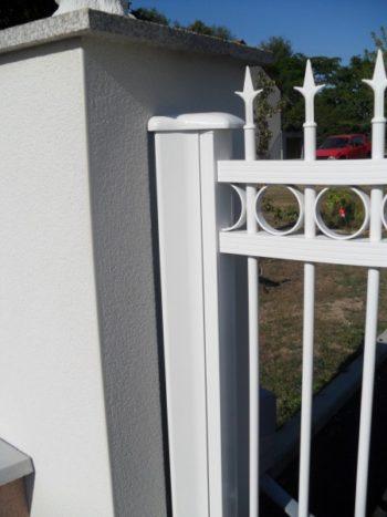 Portail Aluminium détail