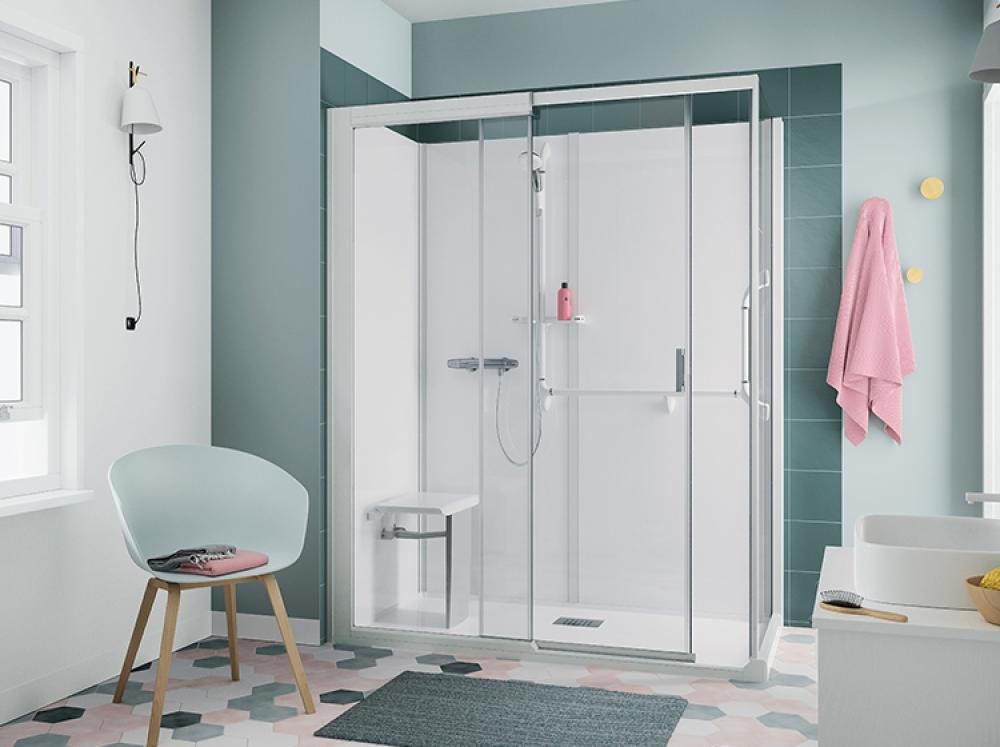 Installation de cabine de douche accessible, en haute vienne et limousin