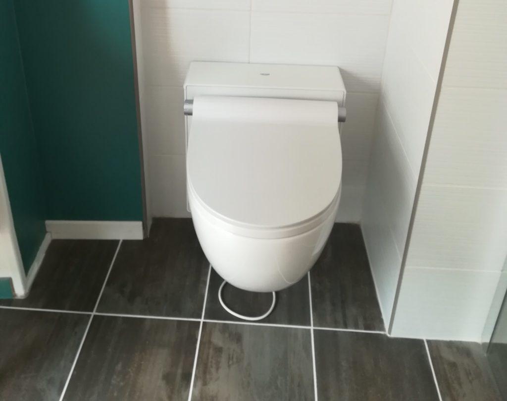 WC suspendu accessibilité Limoges Haute-Vienne