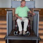 Plate forme élévatrice chaise roulante escalier
