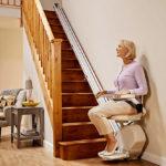 monte-escaliers-droit à Limoges