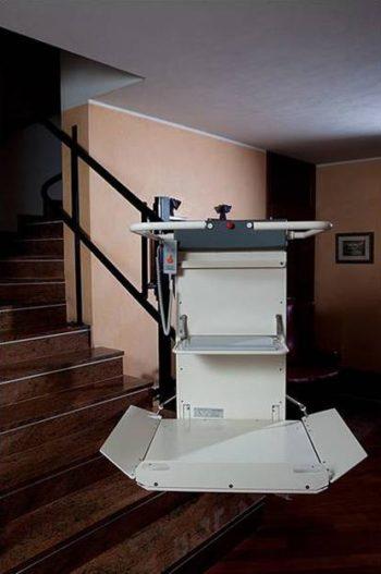 Pose de Plate forme élévatrice d'escaliers en Haute Vienne